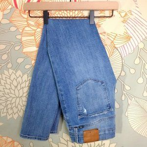 Lucky Brand Brooke Skinny Distressed Jeans size 8